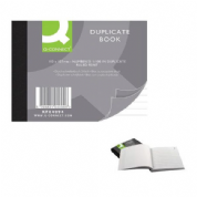 Q-Connect - Duplicate book  100 sheets 102 x 127 mm